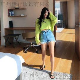 谷可品牌尾单女装折扣女装 尾货库存服装批发金色风衣