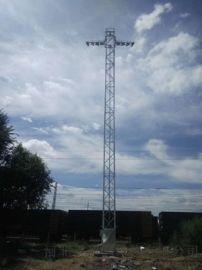 21.5米体育场广场照明专用升降式投光灯塔