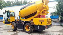安迪牌WZY9501JBC自上料式水泥搅拌车