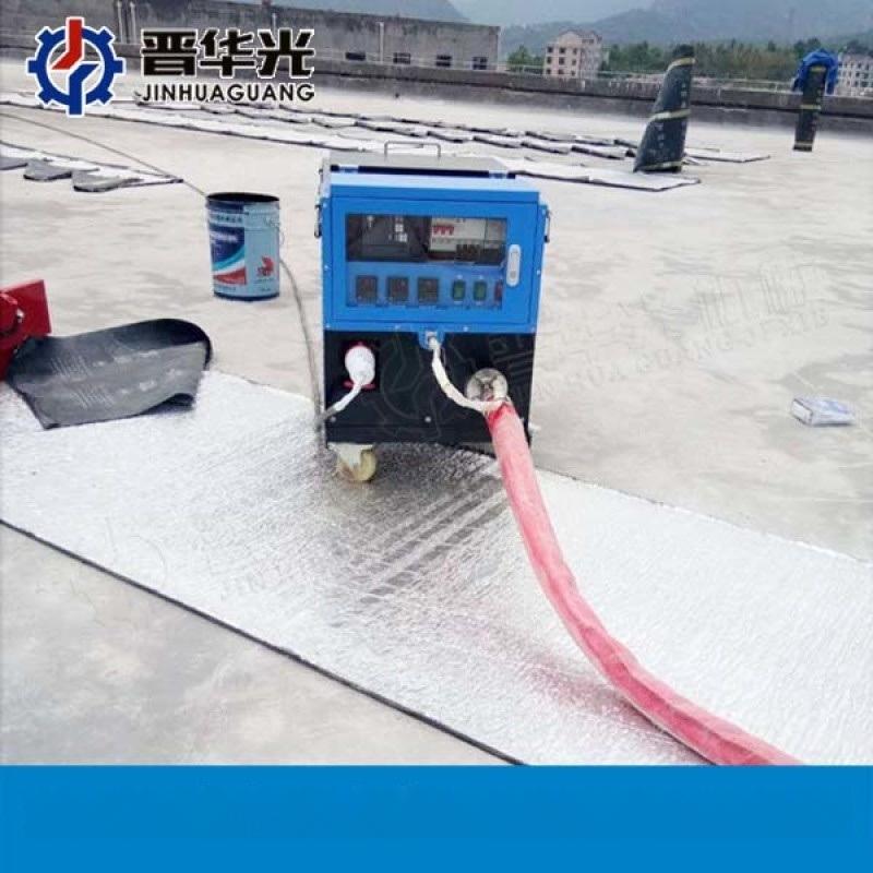 河北唐山大型非固化熔膠機_非固化防水施工設備