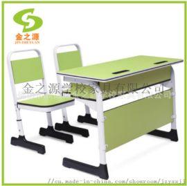 厂家直销善学儿童学生双人课桌,可调控升降学习桌椅