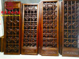 瀘州茶樓中式裝修,仿古門窗設計定製廠家