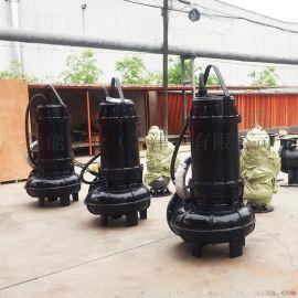 大流量污水泵_WQ排污泵_城市污水排放泵