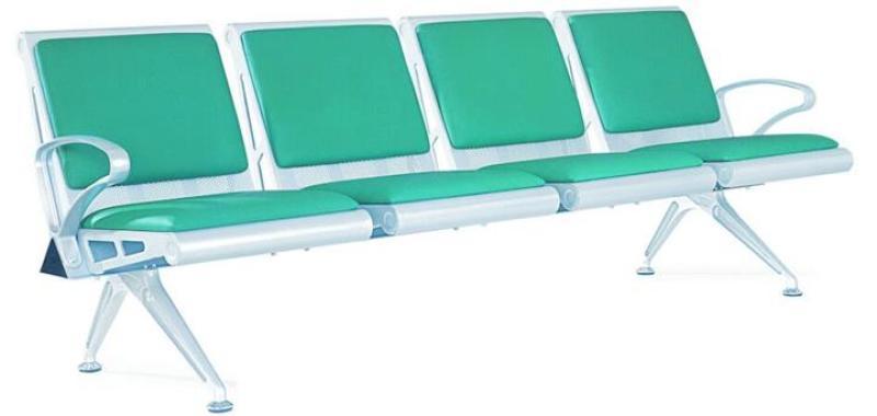 铝合金机场椅,3人座-中国公共座椅制造专家