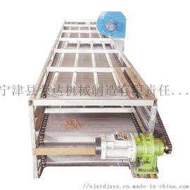 Conveyor亚麻籽降温网带输送机