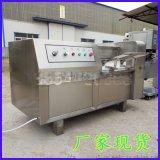 烤肉串切丁機器報價350型凍肉切丁機圖片