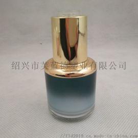 化妆品塑料瓶 30ML亚克力滴管瓶 精油瓶