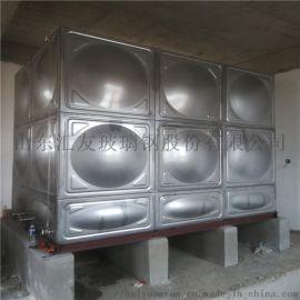 焊接不锈钢水箱,不锈钢生活水箱汇友不锈钢水箱厂家