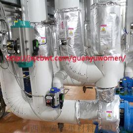 防水防油球阀可拆卸式节能保温套
