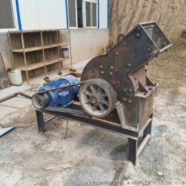 山西移动式小型锤式破碎建筑垃圾处理设备柴油式破碎机