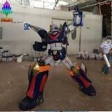 2016年最新款機器人雕塑模型之3 科幻影視人物大型玻璃鋼道具 玻璃鋼機器人雕塑