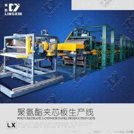 环保保温设备聚氨酯夹芯板生产线出口热销产品