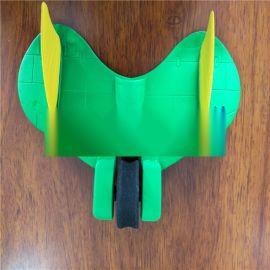 创意EVA热压儿童玩具飞机EVA冷热压成型玩具飞机厂家