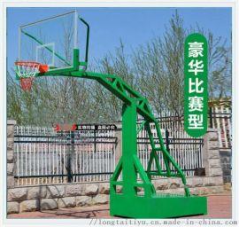標準室外籃球架 平箱籃球架廠家