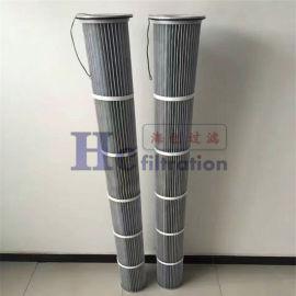 阻燃PTFE覆膜滤筒聚酯纤维木浆纤维滤纸
