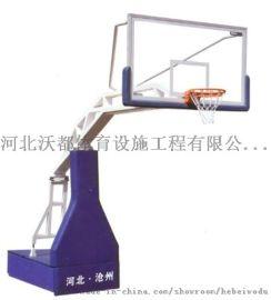 供应沧州篮球架  钢化玻璃篮板 篮球用品出口