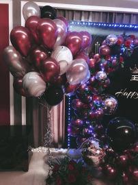 昆明花語花香氣球婚禮氣球婚房氣球婚慶