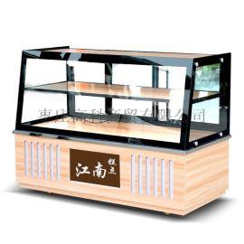 面包/糕点外**柜-面包展示柜厂家----宏发展柜