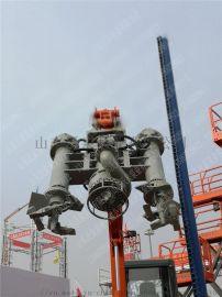 中山立式耐磨液压河沙泵 大品牌钩机潜污泵厂家直供