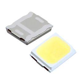 源头厂家led2835贴片灯珠暖白正白0.2W发光二极管26 28lm荧月电子