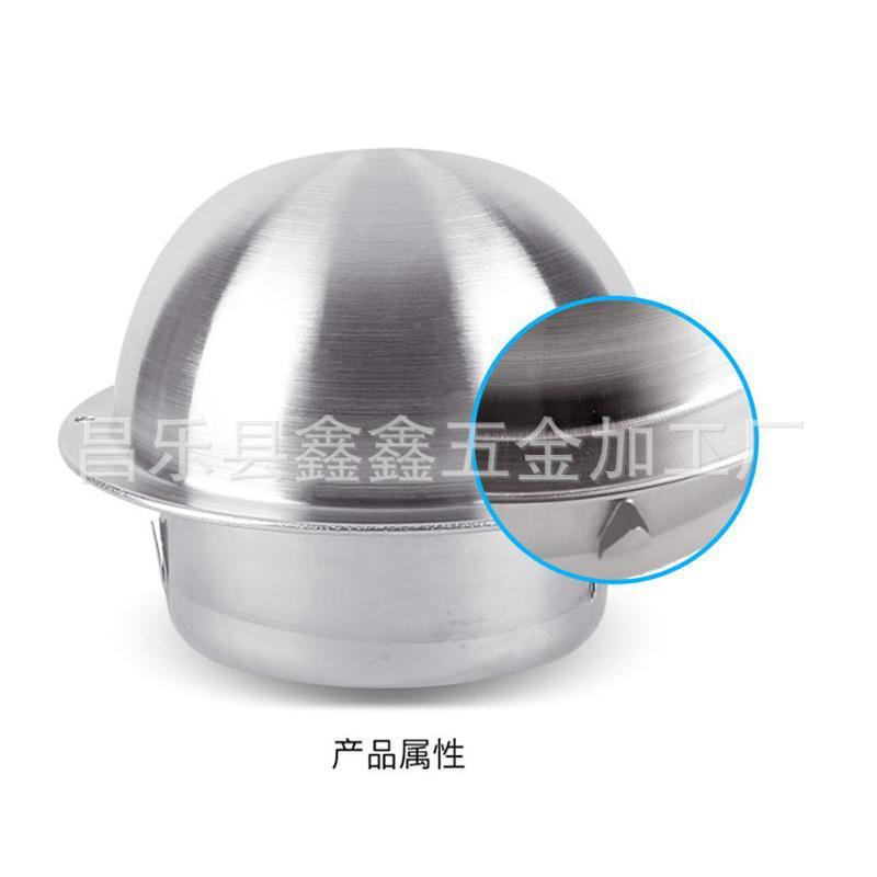 不锈钢透气帽管 山东透气管帽