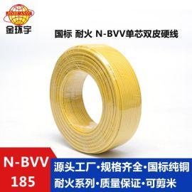 金环宇电线电缆国标铜芯家用护套线N-BVV 185双层绝缘皮硬线