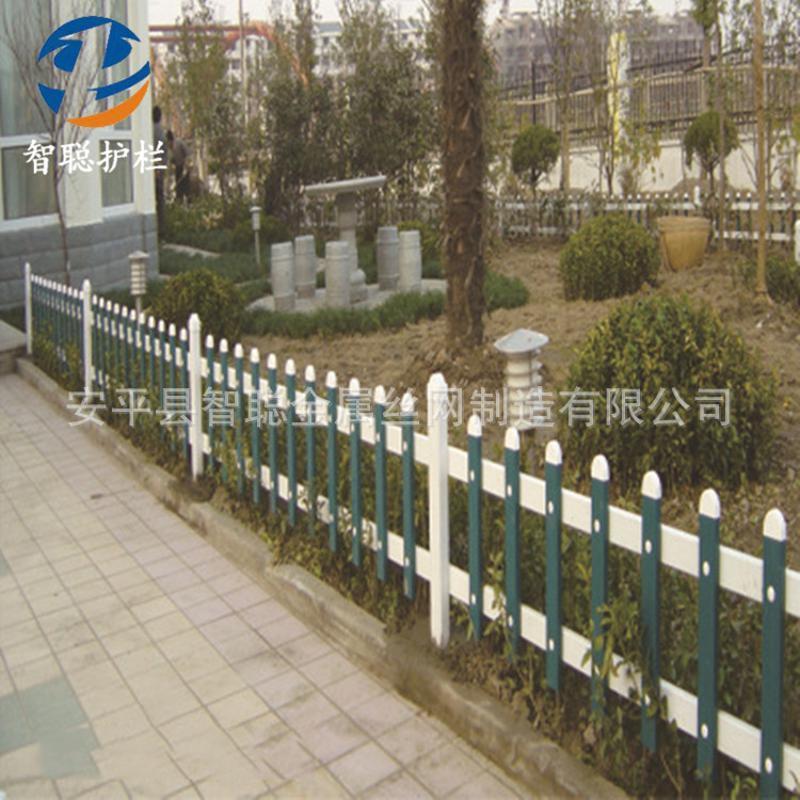 PVC草坪护栏厂家现货 绿化带草坪护栏定制 公园小区草坪护栏价格