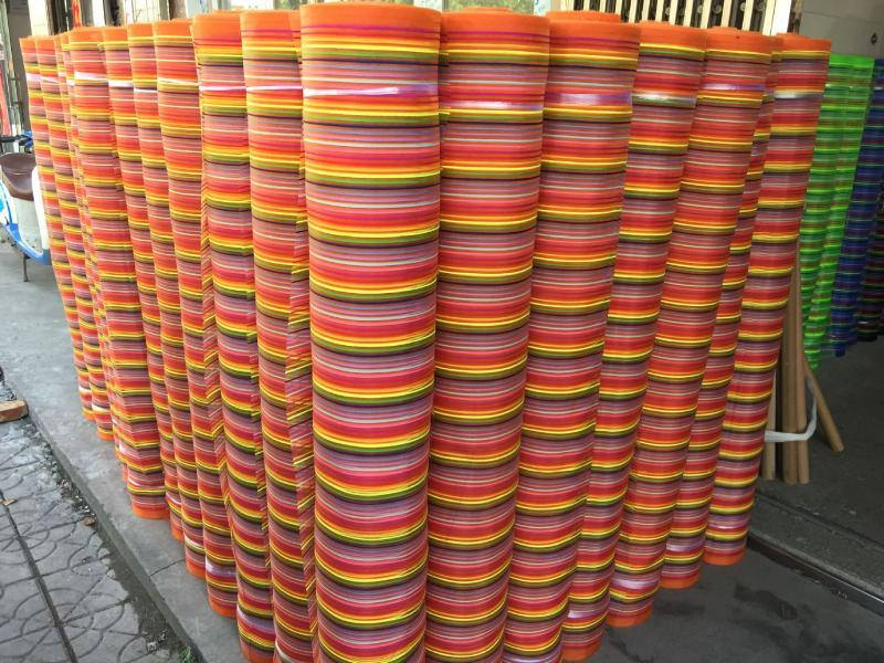 尼龙条纹网布多色尼龙沙网箱包网织方格网尼龙纱网面料窗纱网