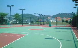 学校及运动场馆硅PU地坪