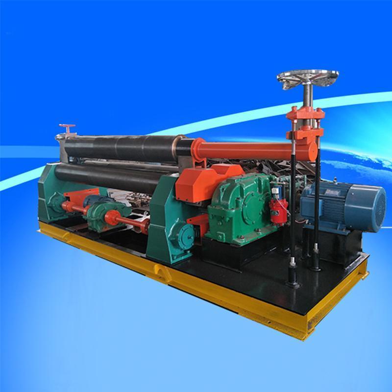 三辊对称式全自动型 半自动 **小型电动机械卷板机 厂家直销