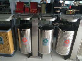 不锈钢垃圾桶,不锈钢分类垃圾桶,白钢垃圾箱,户外不锈钢垃圾桶