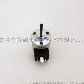 折页机吸风口电磁铁电磁阀厂家 圆管式推拉电磁铁