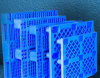 阿壩九腳麪粉托盤,九腳網格棧板塑料棧板托盤1010