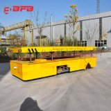 喷砂设备80吨轨道电动平车 自动化车间轨道运输车