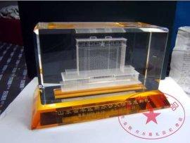 世博会水晶礼品  鸟巢水晶工艺品  国际会议纪念品
