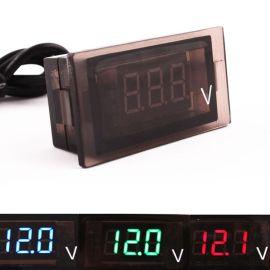 防水LED数字显示直流电压/车用电压表/测量......