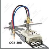 小车式火焰切割机改进型(加装预热氧,切割氧总阀门)