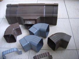 安赛2014年5K彩铝落水系统、檐沟天沟雨水槽、方雨水管、雨水斗13805764514