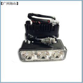 汽车改装车灯 三LED 长亮 白光 大功率 高亮度 日行灯