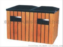 西安,昆明钢木分类户外垃圾桶,塑料垃圾桶