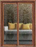 沙河佳汇新款钛钢烫花隔断玻璃用于阳台、厨房、卫生间推拉门