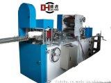 雙色印刷壓花餐巾紙摺疊機