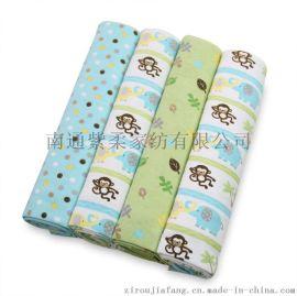 2016独家新款法兰绒婴儿包毯 儿童纯棉床单 宝宝包布包单 批发