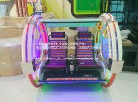 小象乐吧车 双人平衡逍遥车 2016新款广场游乐设备乐吧车游乐设备户外电玩游戏机