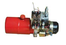 扫雪车液压动力单元液压系统