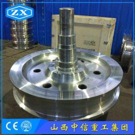 山西中信重工集团专业加工大型起重机车轮组及热处理于一体化