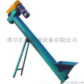 U型螺旋送料机厂家定做,花都花生粉螺杆上料机,倾斜式螺旋送料机图片