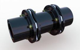 SJM型键联结双型弹性膜片联轴器_双模片联轴器规格
