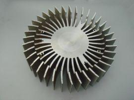 广州LED太阳花散热器加工