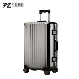定制鋁合金拉杆箱登機箱萬向輪男女通用商務旅行行李箱可加logo